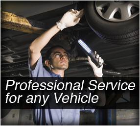 Professional Service For Any vehicle